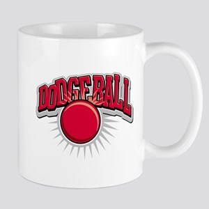 Dodge Ball Logo Mug